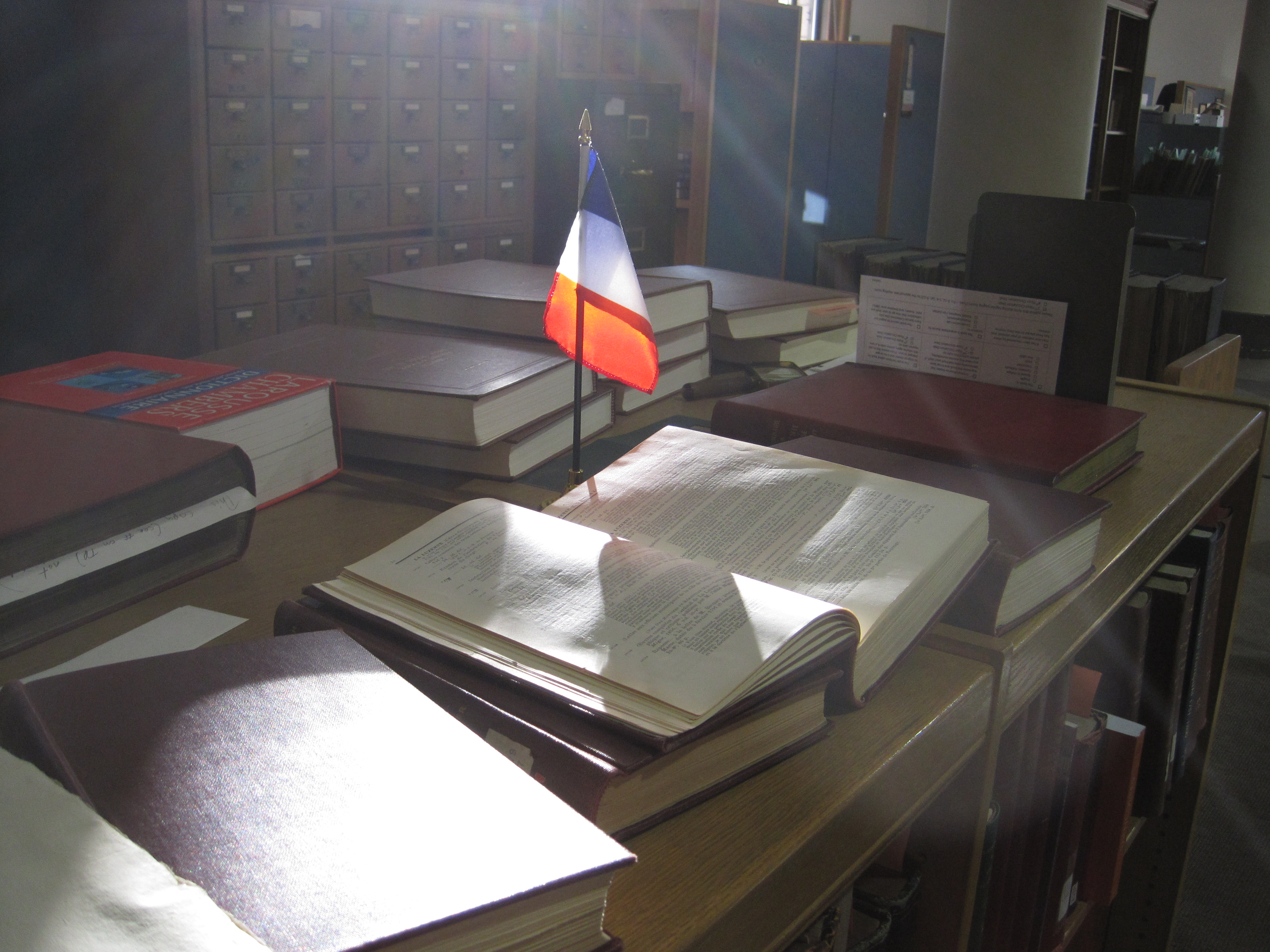 Table Setting In French French Pamphlet Collections At The Newberry Library A Project