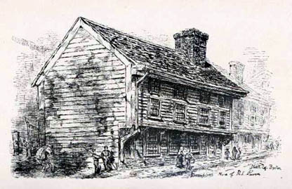 The Only 17th Century Building Still Standing In Boston Is Paul Revereu0027s  House In North Square. Revereu0027s Father Was A French Immigrant Named Appolos  Rivoire ...